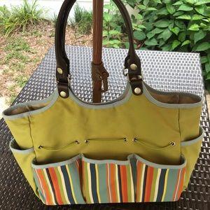 Handbags - GARDENING OLIVE GREEN DUFFLE BAG